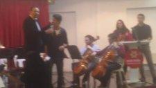 Çanakkale Oratoryosu Gazi Ailesi Davetli Çukurova Bilfen Mektebim Okulu Müzik Öğretmeni Şenkaya Göl