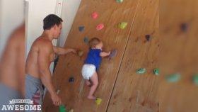 Çekirge Gibi Tırmanan Bebek