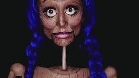 İnanılmaz Makyaj Yeteneği ile Kendini Kuklaya Çeviren Kadın