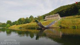 Kayıp Uçarak Göle Atlamak