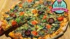 Pizza Tarifi (Bol Malzemeli, Sebzeli) Yedikten Sonra Dışardan Almak İstemeyeceksiniz / Ayşenur Altan