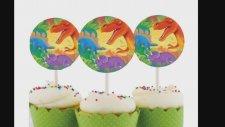 Dinazorlar Tema Konseptli Doğum Günü Parti Süsleri ve Malzemeleri