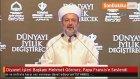 Diyanet İşleri Başkanı Mehmet Görmez, Papa Francis'e Seslendi