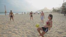 Plajda Futbolun En Güzel Hali