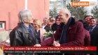 Helallik Isteyen Öğretmenlerine Ellerinde Çiçeklerle Gittiler (1) - Erzurum