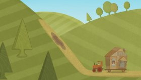 Car Toons - Tractor