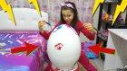 Dev Sürpriz Yumurtayı Melike Kafasında Kırdı Harika Yarışma Yaptık