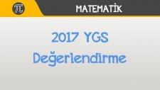 2017 YGS Değerlendirme - Matematik
