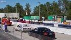 Corvette Ve Golf Arabasının Drag Yarışı