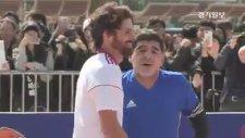 Diego Armando Maradona, Tanrının Eli'ni Tekrarladı!