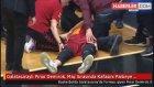 Galatasaraylı Pınar Demirok, Maç Sırasında Kafasını Parkeye Vurdu