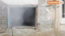 Metruk Evde Korkutan Yangın