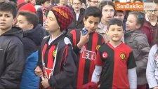 Minik Öğrenciler Eskişehirspor'dan Galibiyet Sözü Aldı