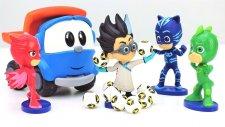 #türkçeizle.Leo Junior ve Pijamaskeliler oyuncakları kurtarıyor.#erkekçocukvideoları