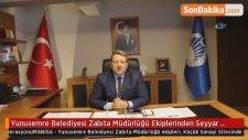 Yunusemre Belediyesi Zabıta Müdürlüğü Ekiplerinden Seyyar Operasyonu