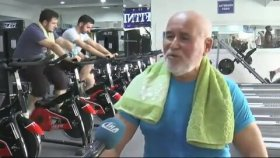 70'lik Dedenin Vücut Geliştirme Şampiyonasına Hazırlanması