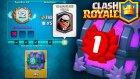 Haydut Çekilişli Meydan Okuma 12 Galibiyet Sandığını Açıyorum - Clash Royale