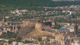 Edinburgh Kalesi, İskoçya'nın Dünyaca Ünlü Simgelerinden Biri.