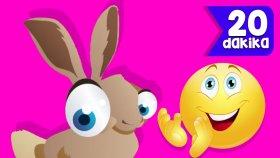 Tavşanı Seviyorsan Alkışla |Küçük Çocuklar İçin Şarkılar | 20 Dakika