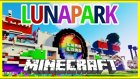 Lunapark Dev Harita - LunaLand Eğlence Parkı - Minecraft Harita