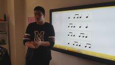 Şehir İsimleri İle Nota Değerlerini ve Vuruşları Öğreniyoruz Öğrenci Kerem Güder Öğretiyor