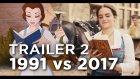 Beauty and the Beast'in 1991 ve 2017 Yapımlarının Karşılaştırılması