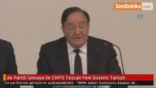 Ak Partili İyimaya ile CHP'li Tezcan Yeni Sistemi Tartıştı