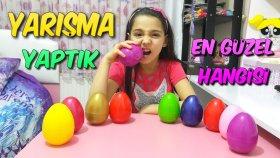 Sürpriz Yumurta İçinde Saklanmış Anahtarlıklar !! En Güzel Anahtarlık Yarışması