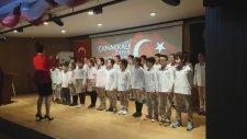 18 Mart Çanakkale Zaferi Töreni Adana 100.Yıl Mektebim Okulu Müzik Öğretmeni Melisa Gür