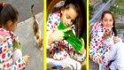 Pazara Giderken Parkta Gizli Slime Yaptık ve Bakın Kiminle Karşılaştık!