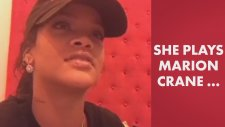 Rihanna Kendi Sevişme Sahnesini İzlerken Utandı