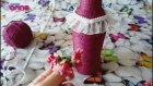 Cam Şişe Dekoratif Süsleme Yapımı - Kendin Yap - DIY - Canım Anne