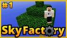 Dans Ederek Ağaç Büyütme Keyfi...  - Sky Factory Sezon 2 - Minecraft Türkçe - Bölüm 1
