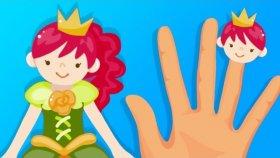 PARMAK AİLESİ | Prenses Ailesi | Finger Family