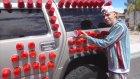 10.000 Plastik Bardak İle Hazırlanan Şaka