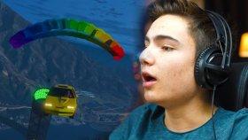 Gta 5 Online - Paraşütlü Arabalarla Yarış !