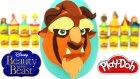 Güzel ve Çirkin Sürpriz Yumurta Oyun Hamuru - Güzel ve Çirkin Canavar Belle Oyuncakları