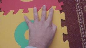 Pilsan Rakamlı Renkli Yer Karosu Oynadık, Eğlenceli Çocuk Oyunu