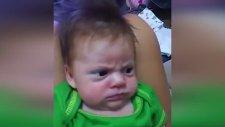 Asık Suratlı Bebeğin Sevimliliği