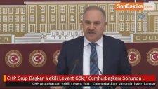 CHP Grup Başkan Vekili Levent Gök: