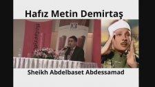 Hafız Metin Demirtaş. Kuran tilaveti. Quran tilawat. Kuran dinle. Abdussamed makamı Kuran tilaveti.