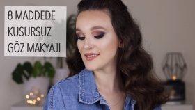 NASIL KUSURSUZ GÖZ MAKYAJLARI YAPIYORUM? *Paket Video I Jean Anouilh - Vahşi Kız
