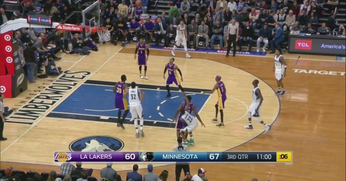 Andrew Wiggins'den Lakers'a Karşı 27 Sayı - Sporx ...