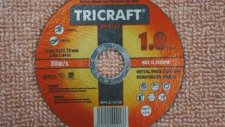 Cutting Wheels And Discs | Tricraft - Star Abrasives