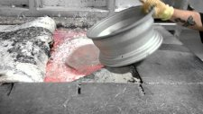 Yüksek Sıcaklıkta Eritilen Alüminyum Jantların Keyif Veren Görüntüleri
