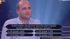 """""""Kim Milyoner Olmak İster?""""de 1 Milyonluk Soruyu Kaçıran Adam!"""
