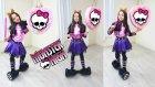 Monster High Clawdeen Wolf Kostümü Giyen Melike Airboard Üzerinde Pinyata Patlattı