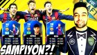 MSN Messi Suarez Neymar Challenge ! Fut Draft Survivor