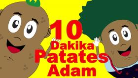 Patates Adam | Çocuk Şarkıları | Bebek Şarkıları | 5 Patates Adam Videosu Bir Arada