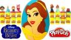 Güzel Ve Çirkin Belle Sürpriz Yumurta Oyun Hamuru - Güzel Ve Çirkin Belle Oyuncakları